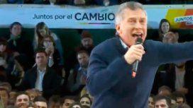 El efusivo cierre de campaña porteña de Macri en Ferro: ¡No se inunda más, carajo!