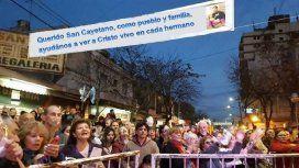 Miles de fieles participarán de la misa central por el Día de San Cayetano