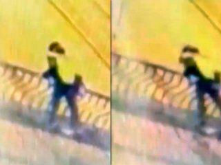 peru: una pareja cayo al vacio mientras se besaba en un puente y murio