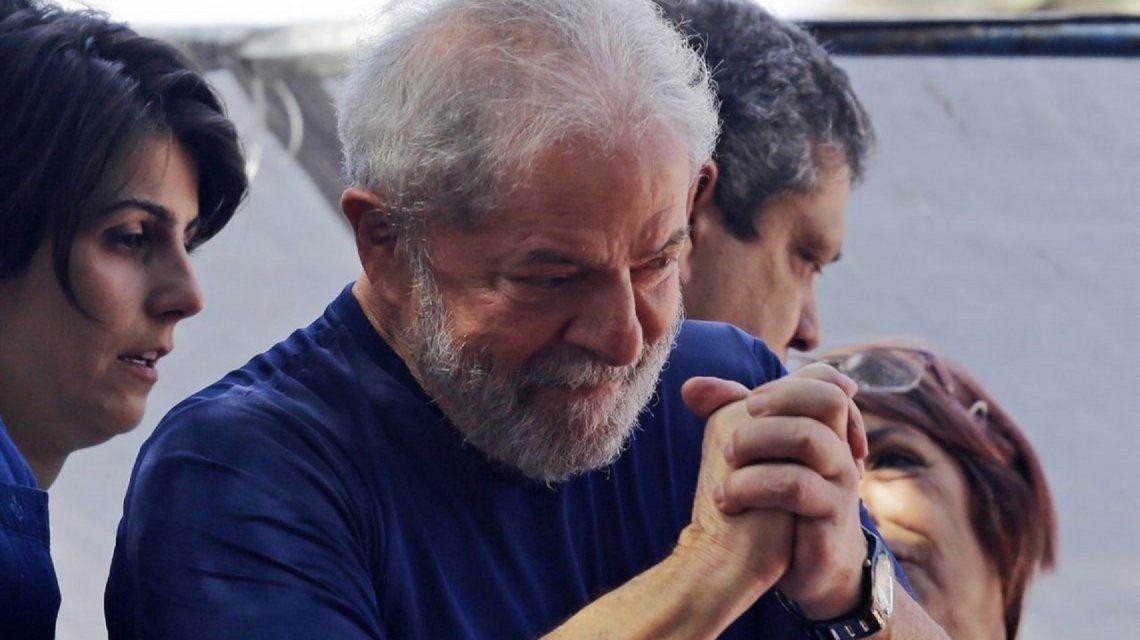 Lula Da Silva quedó a un paso de la libertad