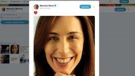 El extraño posteo de Mauricio Macri con una foto de María Eugenia Vidal