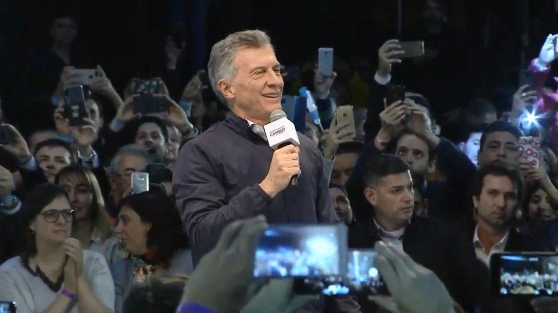 Macri cerró su campaña en el interior en Córdoba: Tienen más responsabilidad que la de hace cuatro años