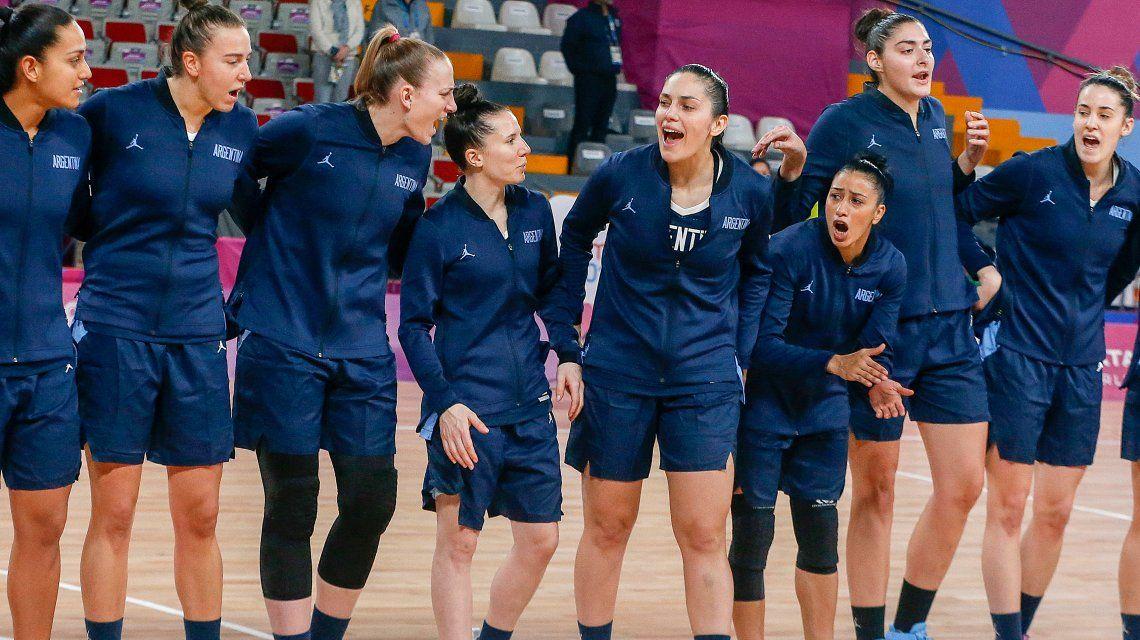 La Selección argentina de básquet