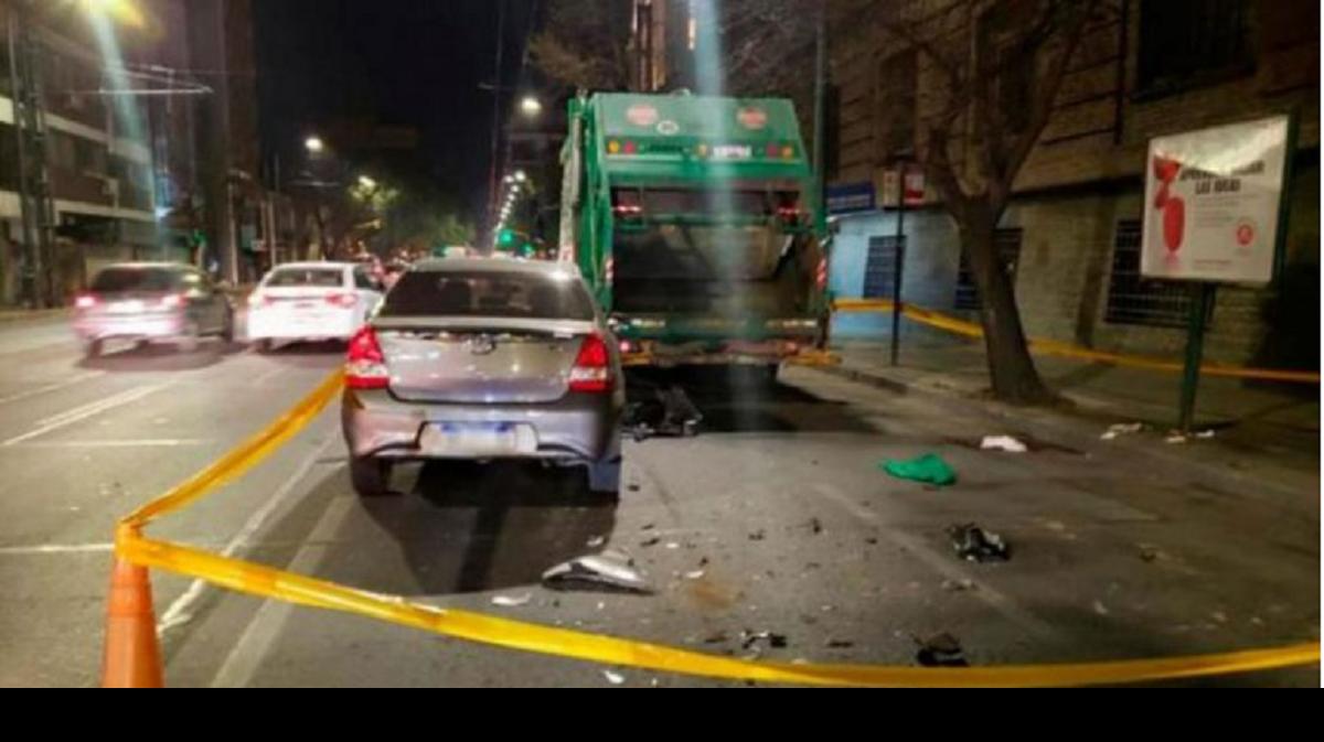 Le amputaron una pierna a un recolector de residuos atropellado por un auto
