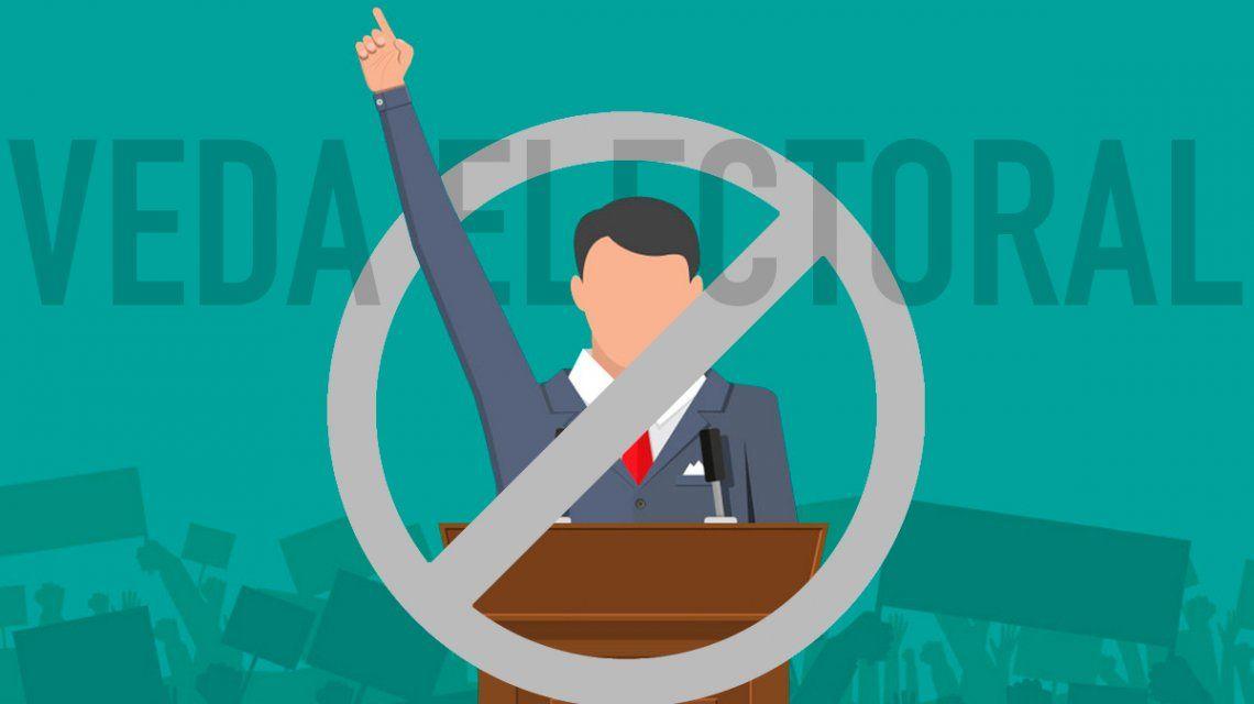 Elecciones 2019: ¿qué se puede hacer y qué no durante la veda electoral?