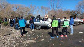 Continúa la búsqueda de los pescadores desaparecidos. Foto: Prensa Ensenada