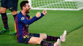 Así fue el terrible golazo de Messi, elegido por la UEFA como el mejor del año