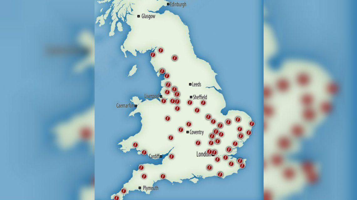 Apagón en el Reino Unido: millones de personas quedaron a oscuras por una falla
