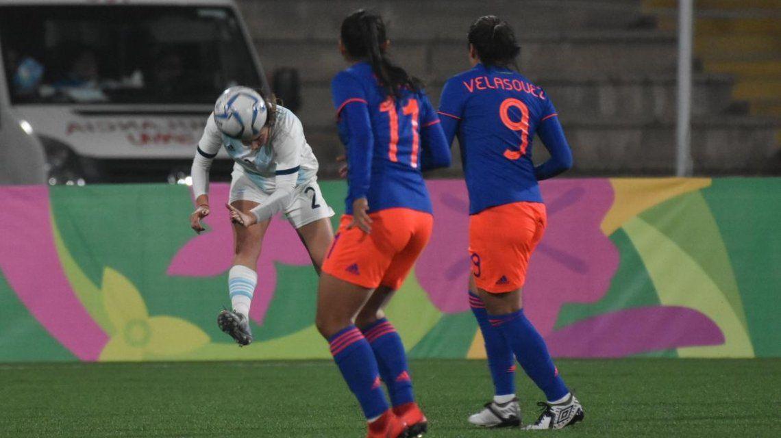 La Selección femenina perdió con Colombia en la final y se quedó con la medalla plateada