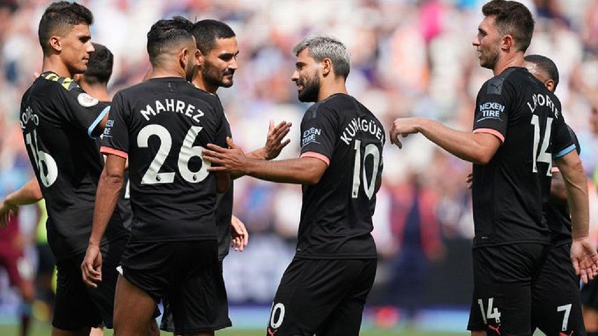 Premier League: Manchester City debutó con goleada al West Ham y un tanto de Agüero