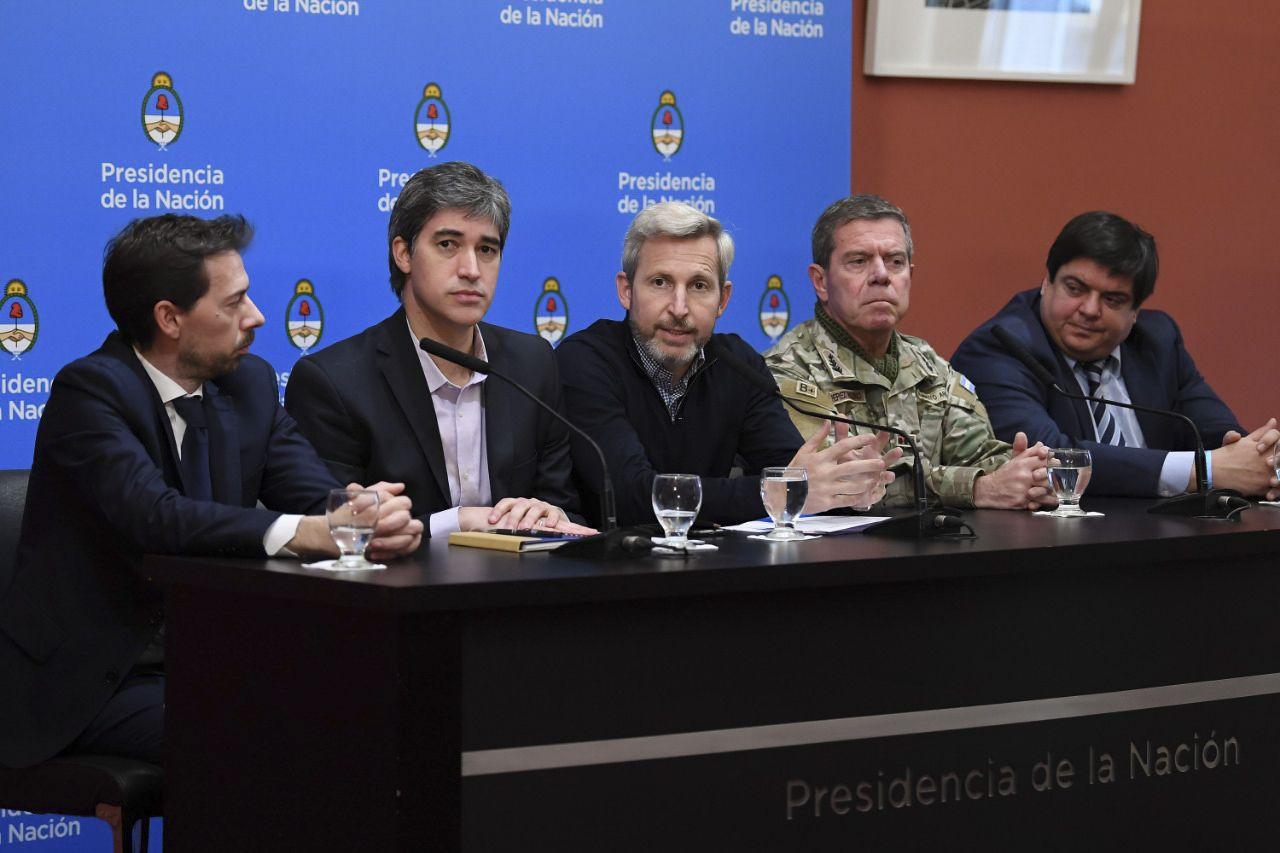 Rogelio Frigerio junto a Adrián Pérez