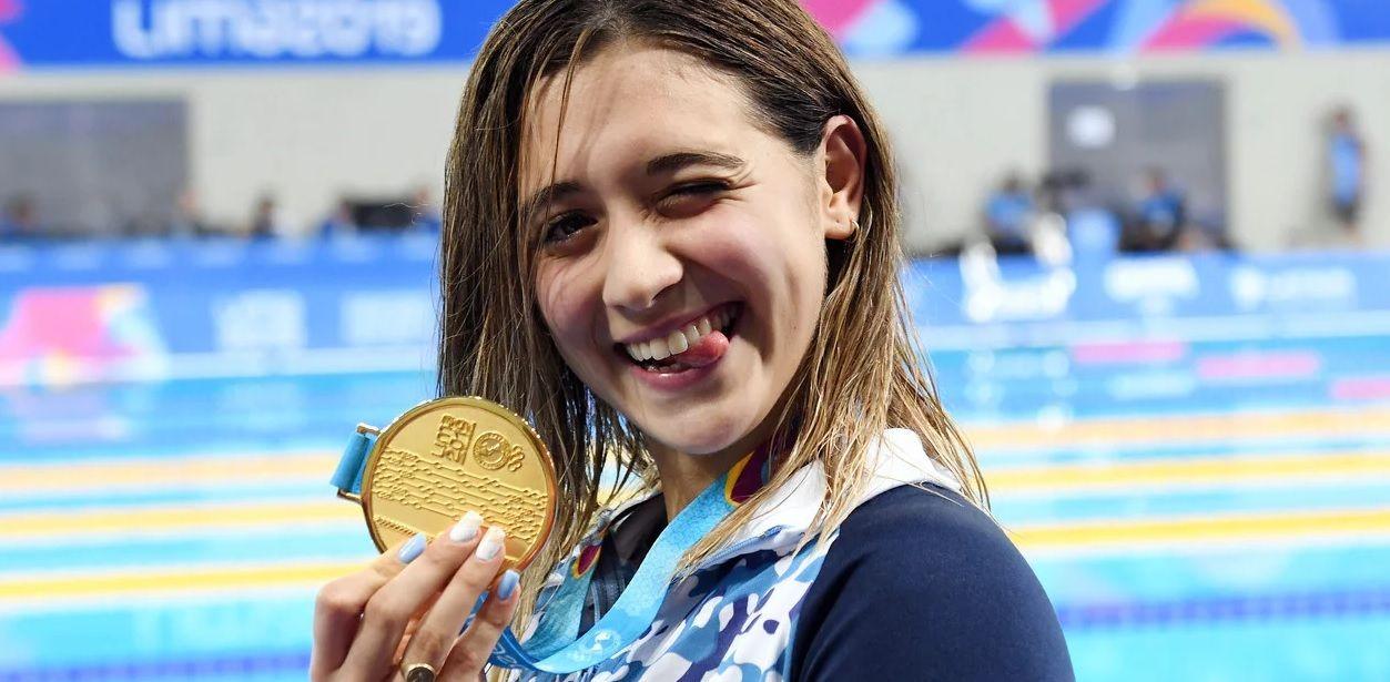 Delfina Pignatiello será la abanderada en la ceremonia de cierre de los Juegos Panamericanos