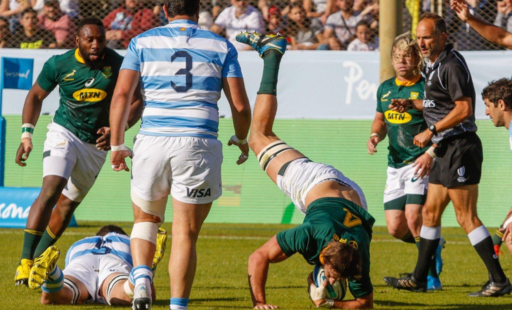 Springboks vs Los Pumas: horario y TV