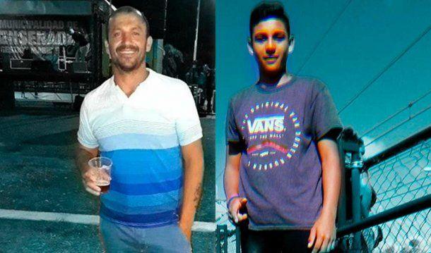 Amadeo Martínez (38) y Franco Soria (17)