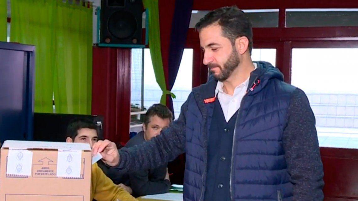 PASO 2019: Tombolini fue el primer precandidato en votar