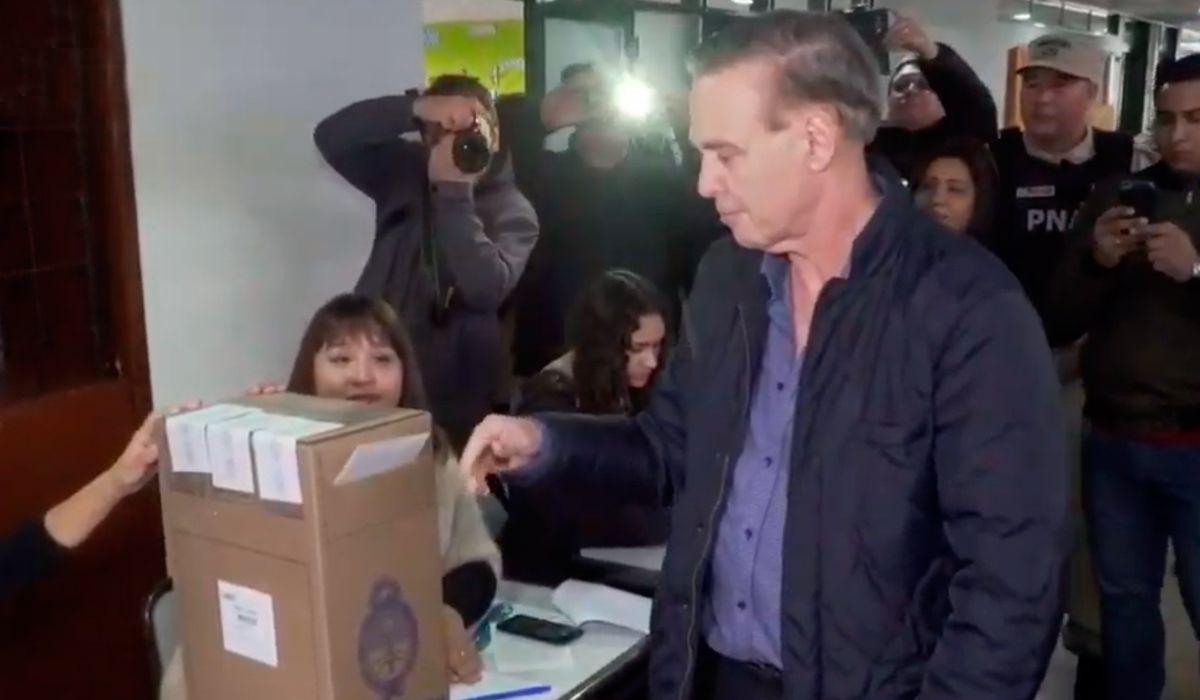 Pichetto votó y cuestionó las PASO: Habría que hacer menos elecciones