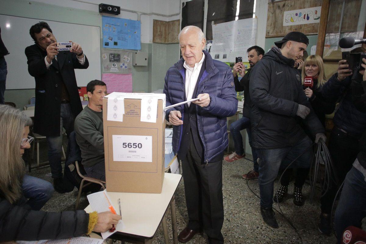 Votó Lavagna: El país tendrá una radiografía de lo que siente la población