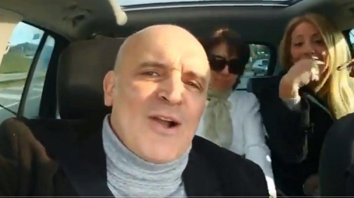 VIDEO: Espert fue a votar cantando Matador