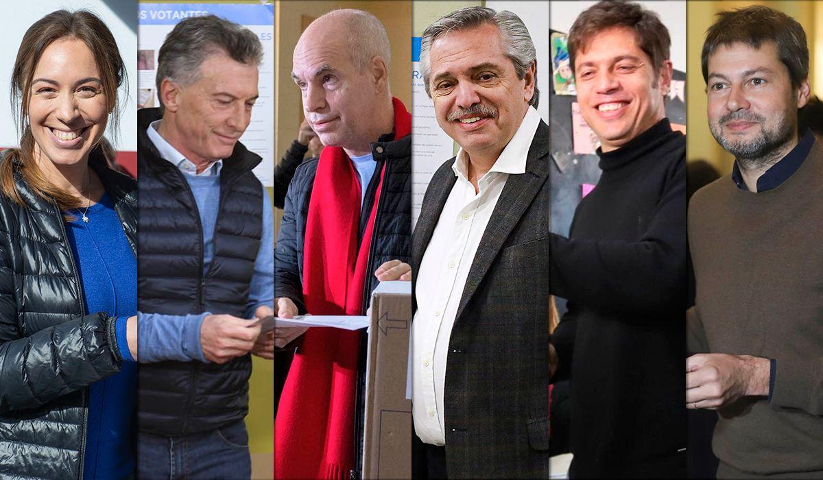 PASO 2019: Los principales precandidatos ya votaron