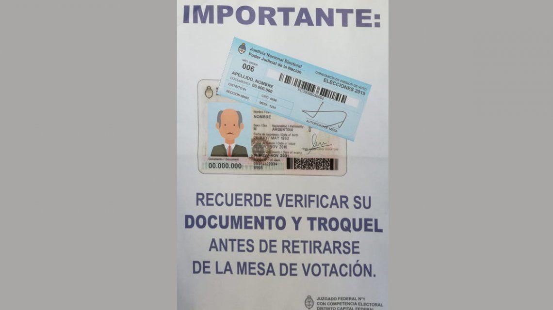 Elecciones PASO 2019: ¿qué hacer si perdiste el troquel de la votación?