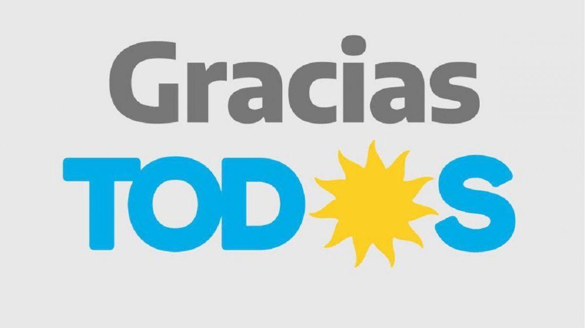 Gracias Todos, el tuit de Alberto Fernández apenas cerraron las PASO