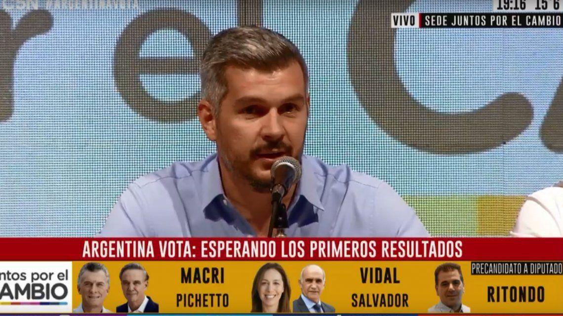 Marcos Peña: Las boca de urna que circulan son dibujadas y truchas