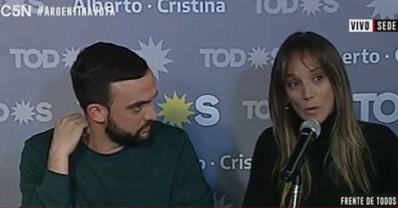 Malena Galmarini: Estamos muy contentos, tenemos números auspiciosos