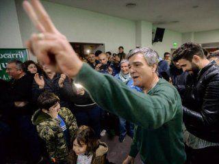 Juanchi Zabaleta celebra el triunfo en Hurlingham