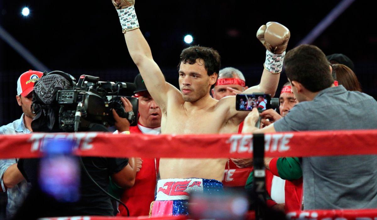Boxeo: el KO de Julio Chávez Jr. contra Evert Bravo
