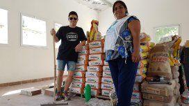 Molinarien uno de sus proyectos solidarios, un comedor en Manzanares, que tuvo una gran mejora de infraestructura