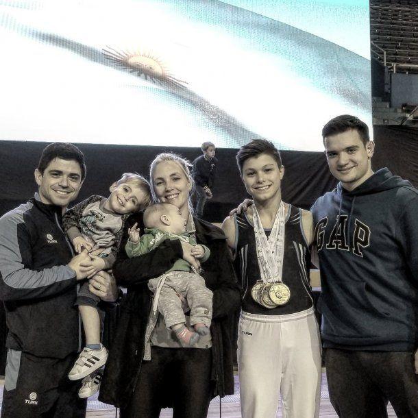 Fede es además padre de familia y el coach de la joya argentina, Julián Jato