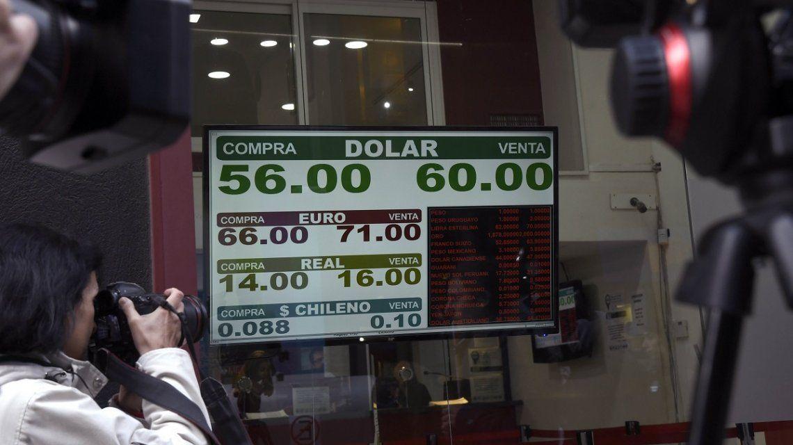 Lunes negro: la Bolsa sufrió la peor caída de su historia, el dólar saltó 23% y el riesgo país se disparó a 1460 puntos