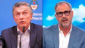 Lapidarios tuits de Jorge Rial durante la conferencia de Mauricio Macri: Da vergüenza