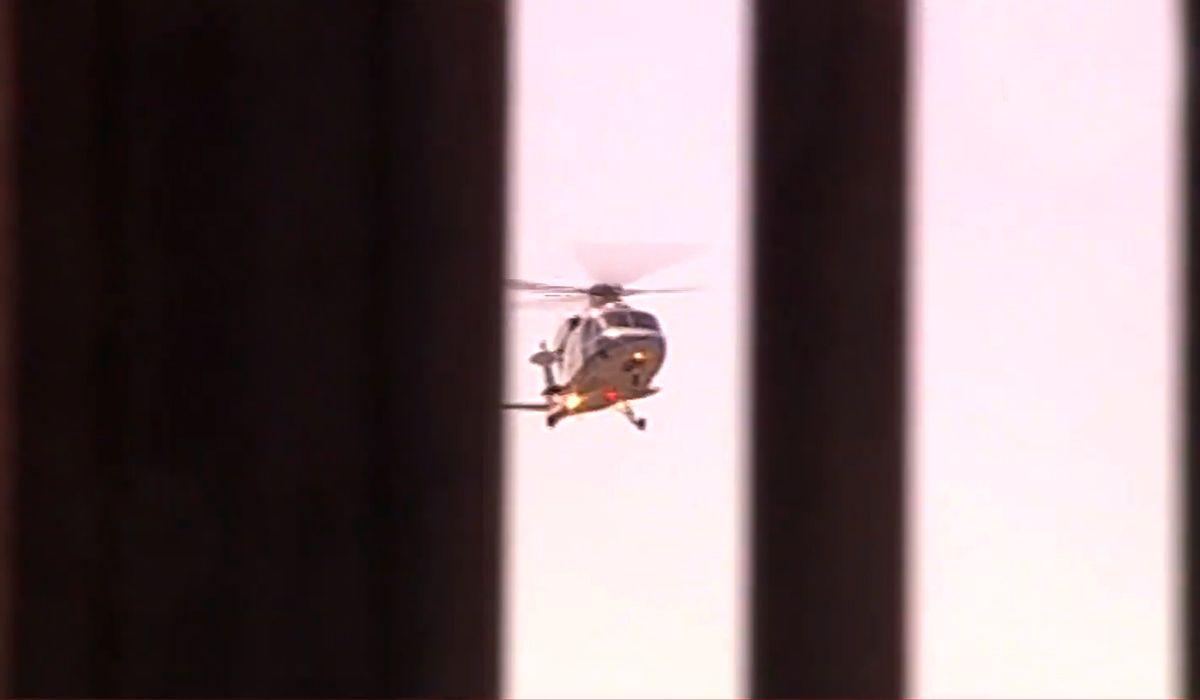 Macri llegó pasadas las 11 a la Casa Rosada en helicóptero