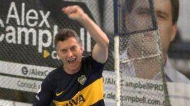 Mauricio Macri y su pasión por Boca