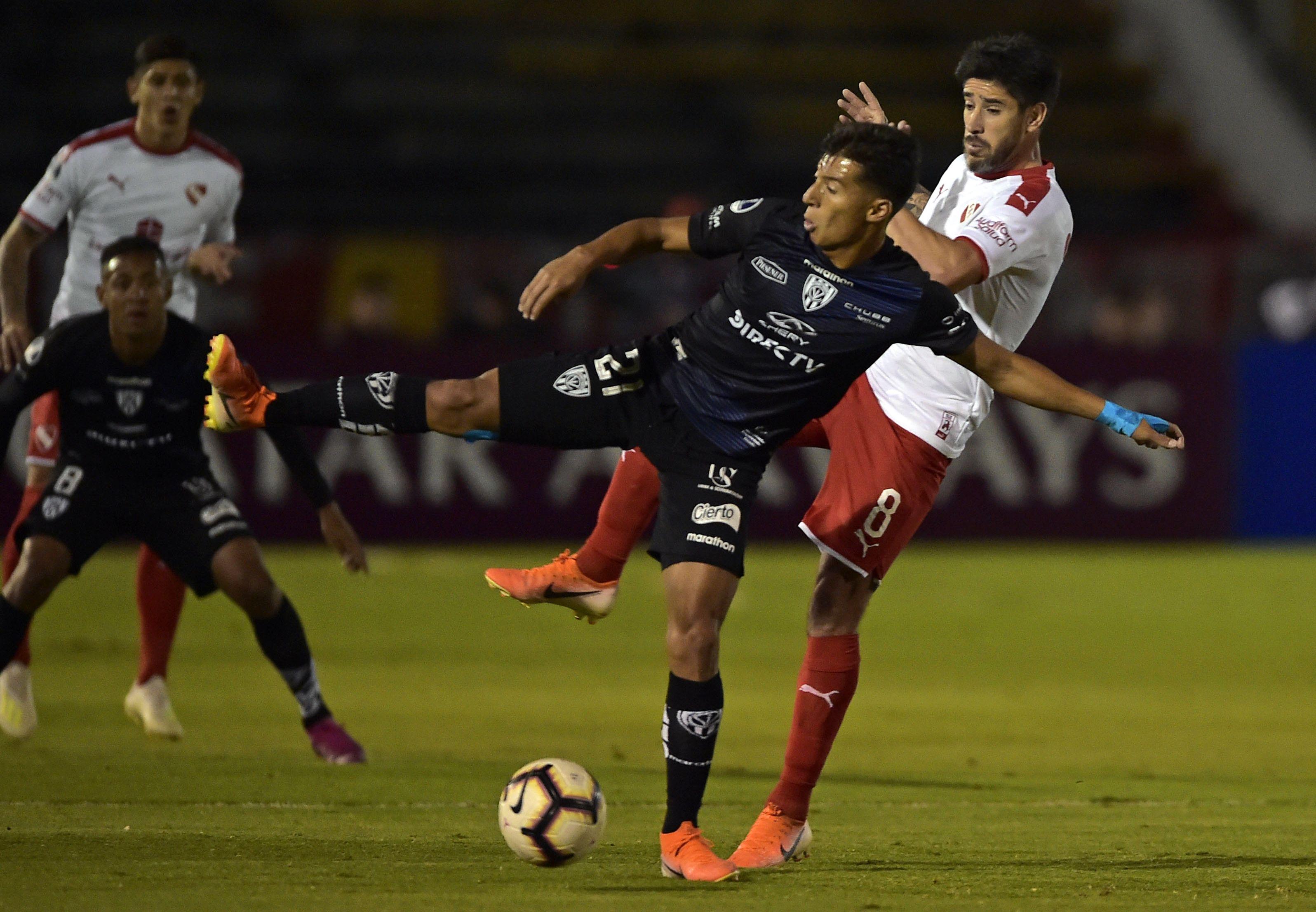 Independiente cayó en la altura de Ecuador ante Independiente del Valle y quedó afuera de la Sudamericana