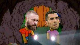 Todos se ríen de Boca y de De Rossi: los mejores memes tras la eliminación ante Almagro