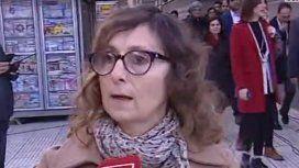 La bronca de la gente en el CCK: Son una manga de traidores en retirada