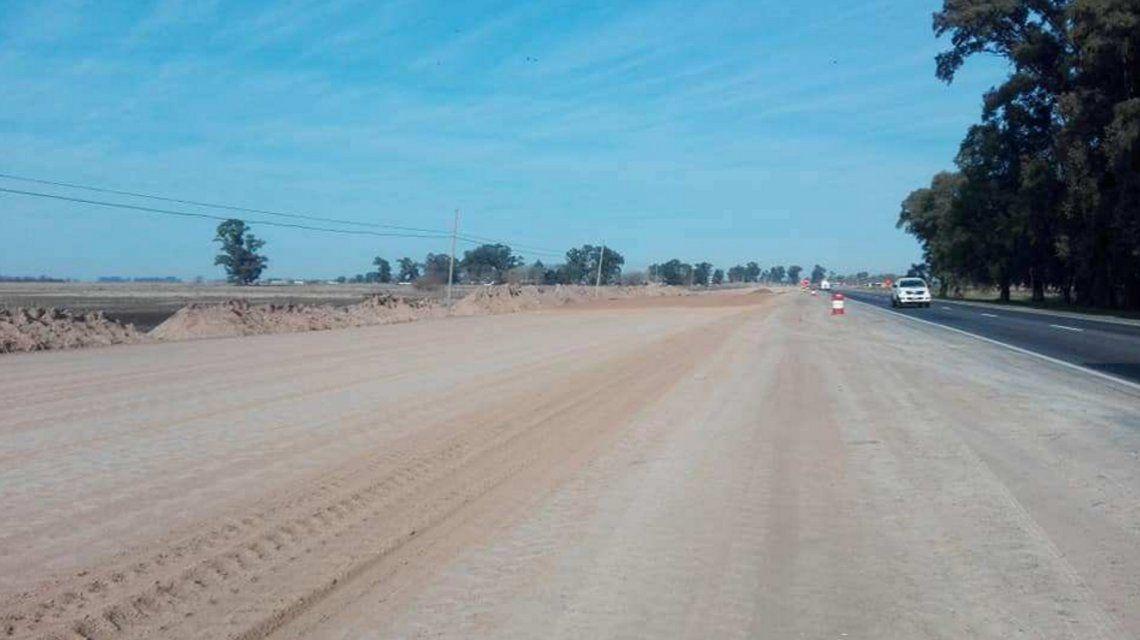 El Gobierno frenó las obras en la ruta 3 que habían comenzado hace un mes: 50 obreros sin trabajo