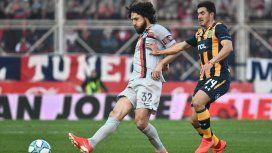 San Lorenzo y Central se gastaron los goles en el primer tiempo: empate de punteros