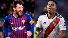 Los golazos de Messi y Juanfer Quintero, nominados al Premio Puskas