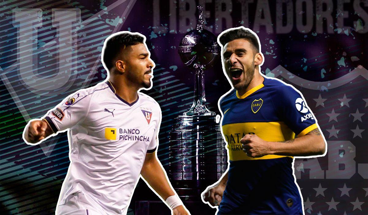 Boca vs Liga Deportiva Universitaria de Quito por la ida de los cuartos de final de la Copa Libertadores: horario, formaciones y TV