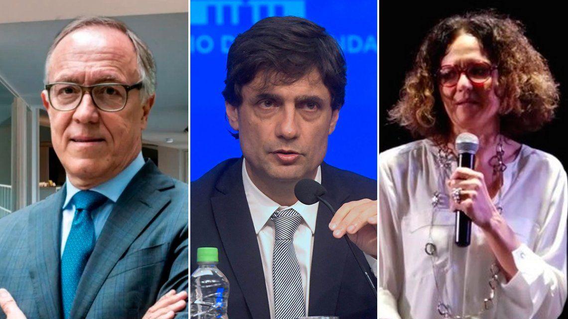 Lacunza se reunirá hoy con Nielsen y Todesca en el ministerio de Hacienda