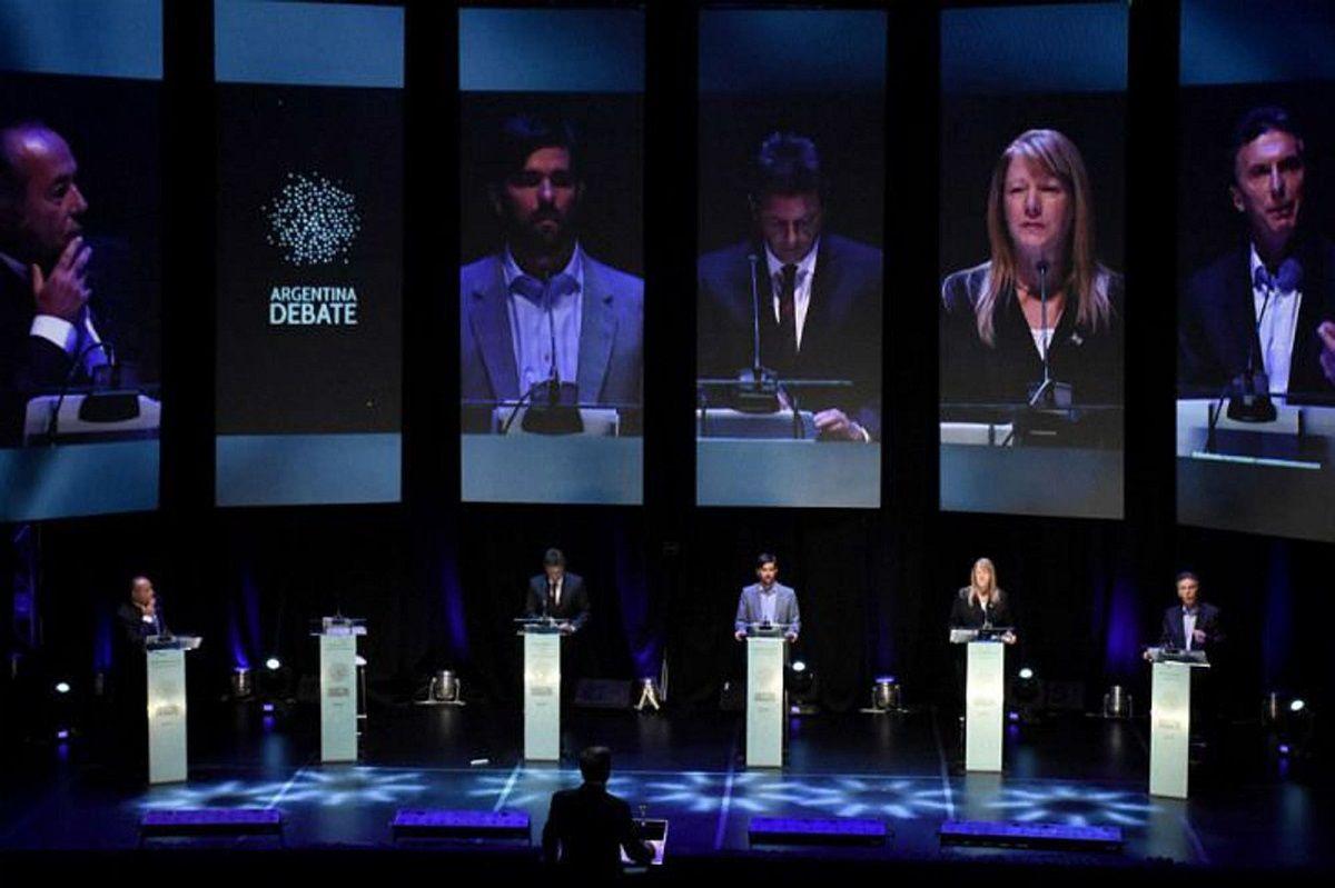 Confirmado: los seis candidatos presidenciales participarán de los debates del 13 y 20 de octubre
