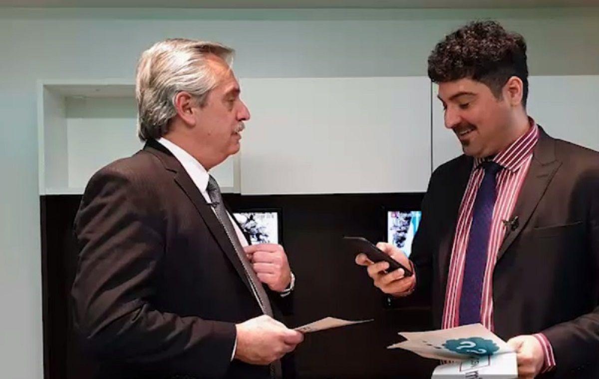 Temporada de rosca: Alberto Fernández ironizó sobre Carrió y cerró hasta la próxima vez