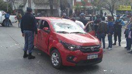 Atropelló a varias personas en un piquete en Chaco: intentó escapar