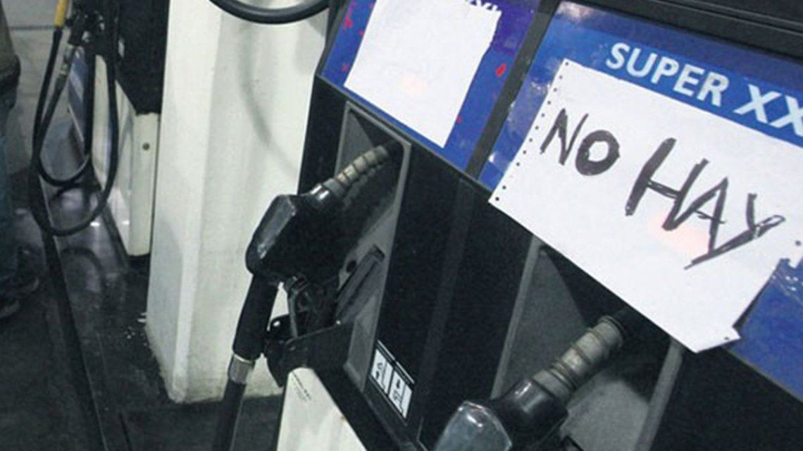 Advierten que ya hay desabastecimiento de naftas en la provincia de Buenos Aires