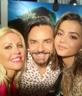 Barbie Simons, Eugenio Derbez e Isabela Moner