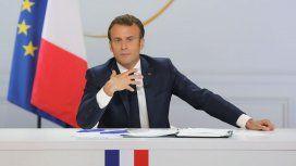Macron llamó a una movilización de todas las potencias contra los incendios en Amazonas