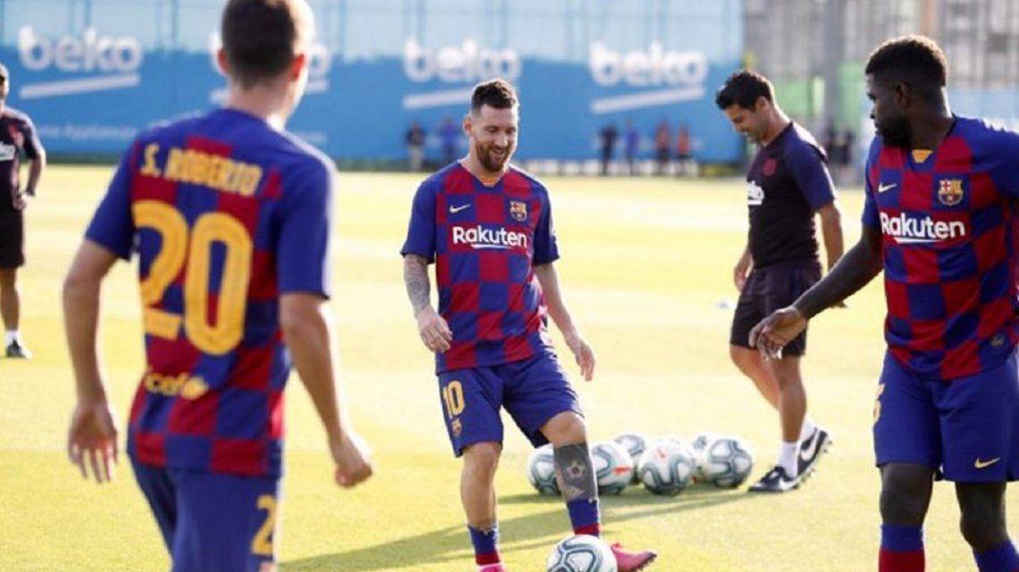 Preocupación en Barcelona por Messi: no entrenó y podría estar varias semanas parado